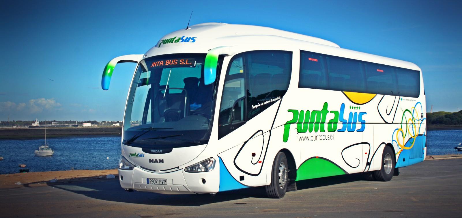 Puntabus Punta Umbria turismo autobuses hotel
