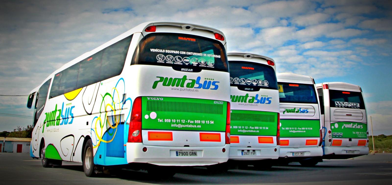 bus company huelva andalucia spain