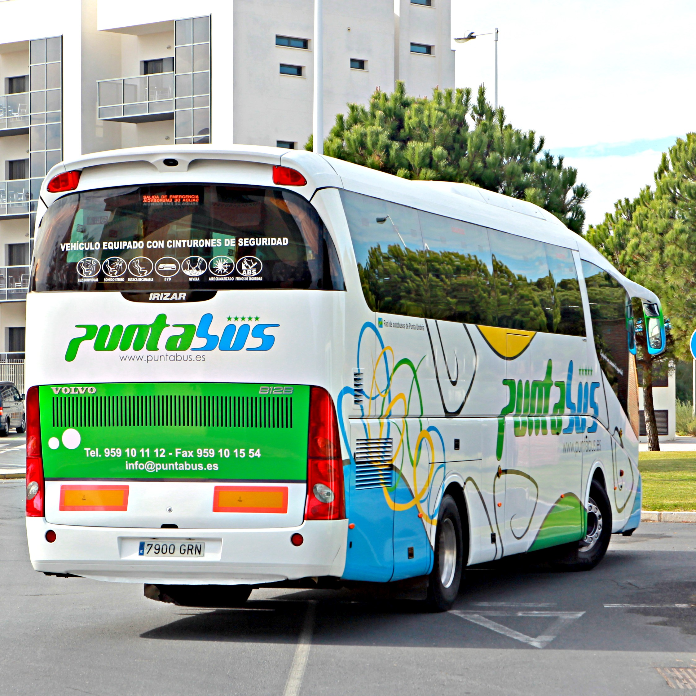 bus coach travel huelva andalucia spain españa